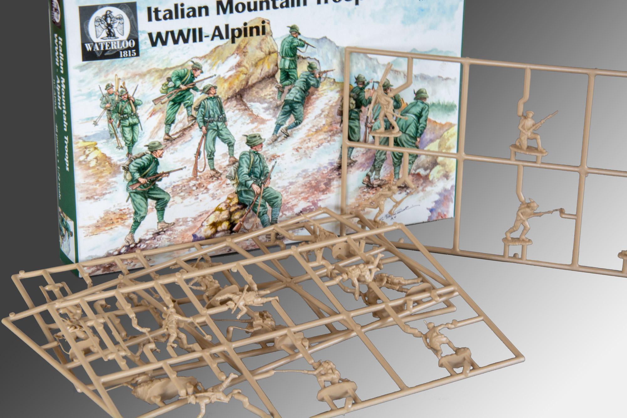 stampaggio materie plastiche - soldatini